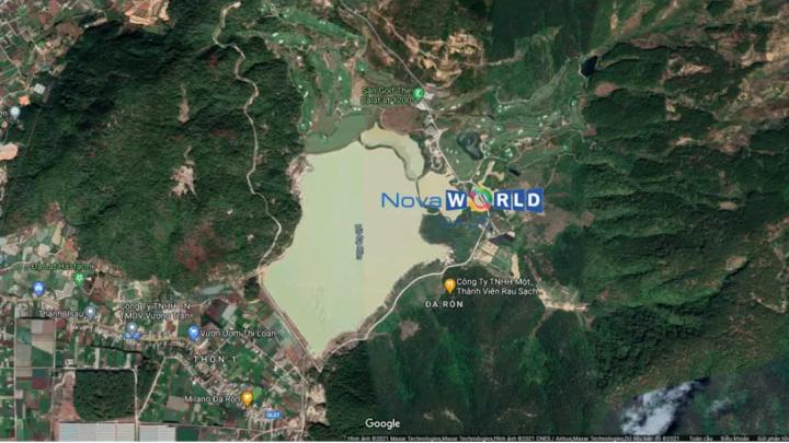 Vị trí NovaWorld Đà lạt - Google map