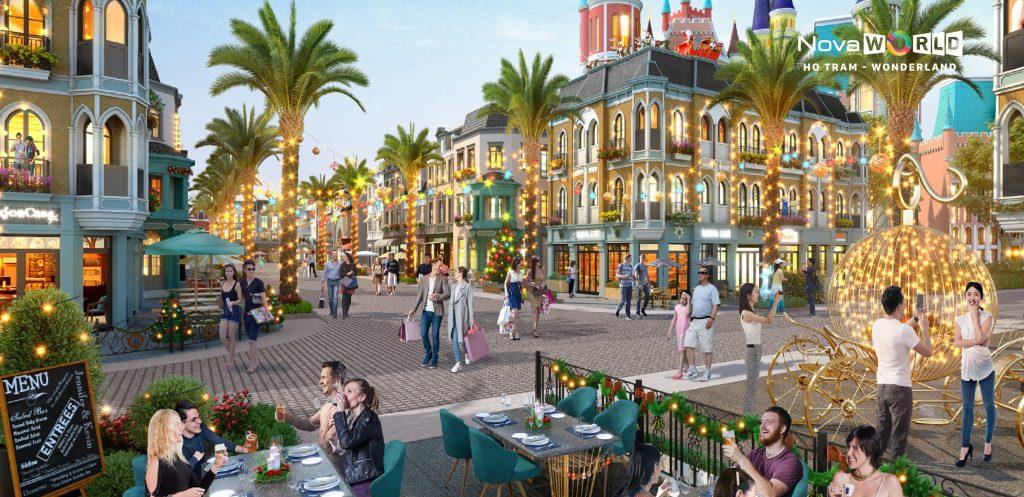 Shophouse thương mại Wonderland Hồ Tràm sẽ đem đến thu nhập bền vững cho nhà đầu tư